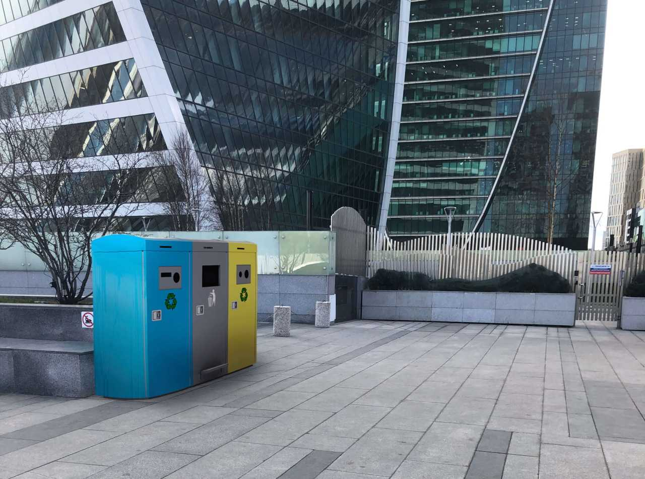 Binology SmartCity Separation Station 3 in Moscow
