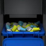 Binology Smart City Bin Lightbox compactor